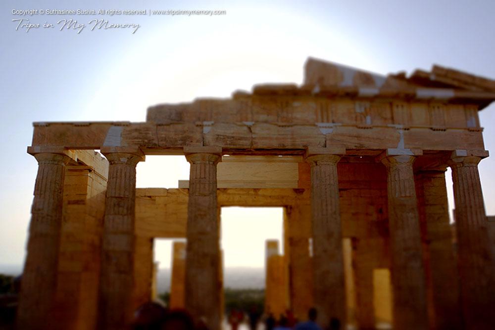 Entrance to the Parthenon