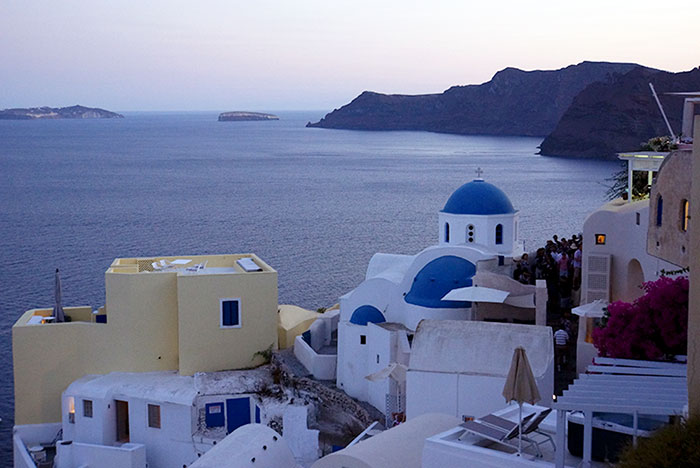 The Beautiful highlight of Santorini