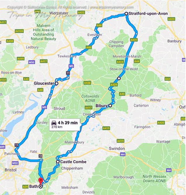 Cotswold route