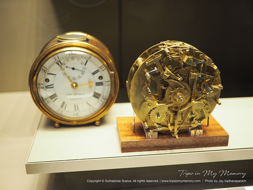 นาฬิกาโบราณที่ British Museum
